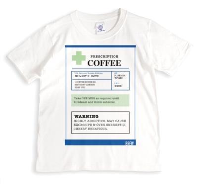 Funny Prescription Coffee T-Shirt