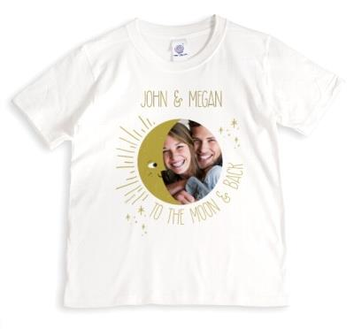 Photo Upload To The Moon And Back T-Shirt