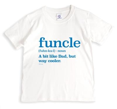 Funcle Definition Typographic Funny T-shirt