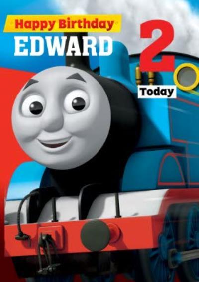 Thomas And Friends Thomas Birthday Card