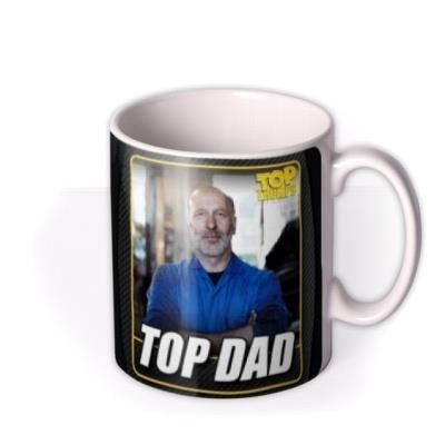 Top Trumps Top Dad Photo Upload Birthday Mug