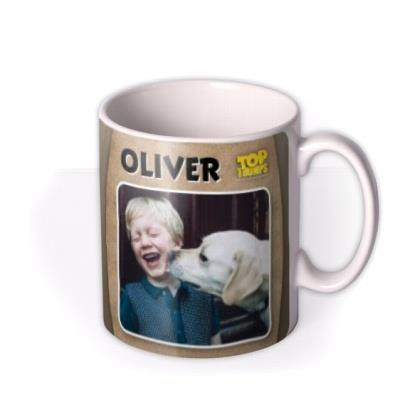 Top Trumps Spoof Photo Upload Birthday Mug