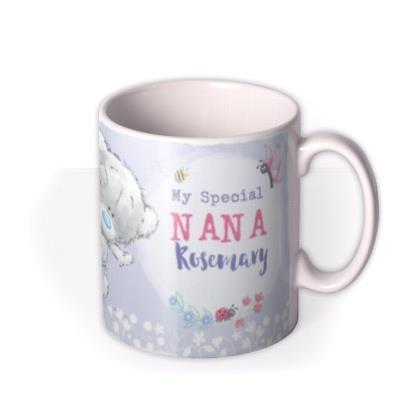 Me To You Tiny Tatty Teddy Special Nana Photo Upload Mug