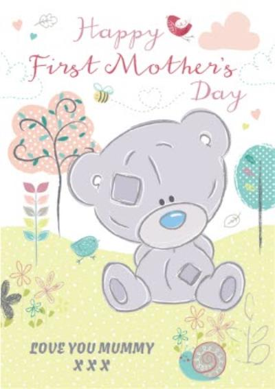 Me To You Tatty Teddy Happy First Mothers Day Card