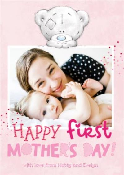Mother's Day card - first Mother's Day - Tiny Tatty Teddy photo upload