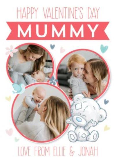 Me To You Tiny Tatty Teddy Happy Valentines Mummy Photo Upload Card