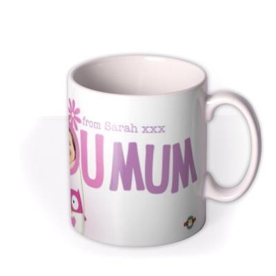 Mother's Day Love You Mum Photo Upload Mug