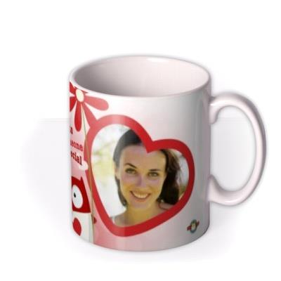 Valentine's Day Someone Special Red Photo Upload Mug
