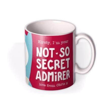 Not So Secret Admirer Cute Owl Personalised Mug