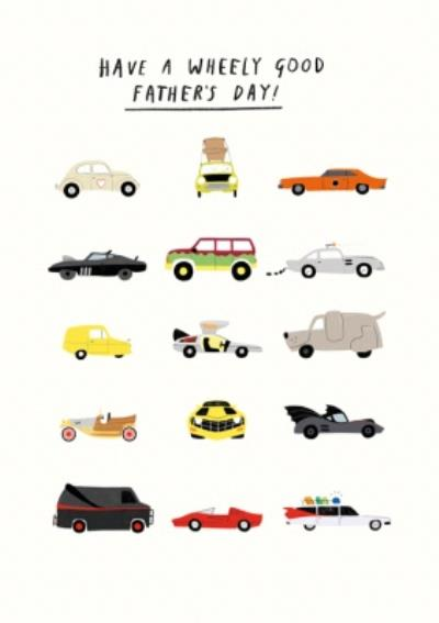 Pigment 20th Century Icons Cars Father's Day Card