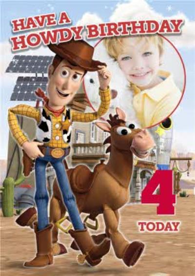 Toy Story 4th Birthday Card