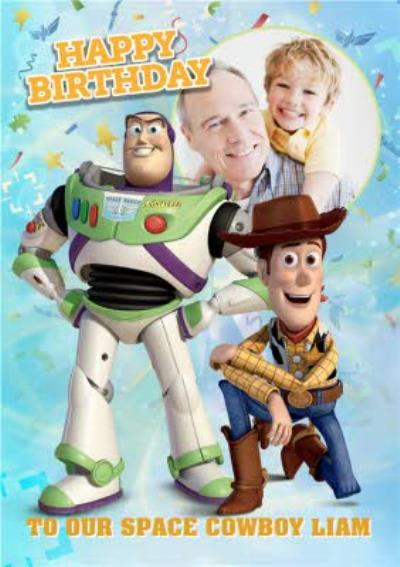 Toy Story Photo Birthday Card