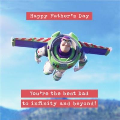 Toy Story 4 - Father's Day Card -  To infinity and beyond!!