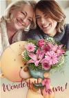 Mother's Day Card  Cute Uddle Card Wonderful Mum