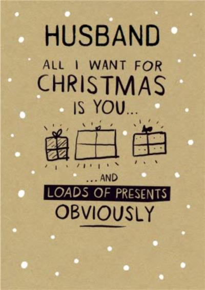 All I Wamt For Christmas Is You.. Christmas Card