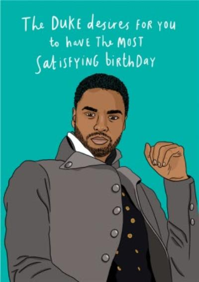 Funny Illustrated The Most Satisfying Birthday Card