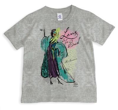 Disney Villain Cruella Personalised T-shirt