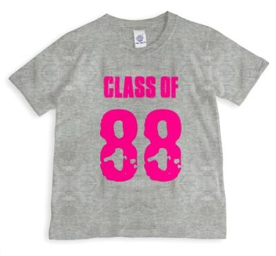 Class Of... Pink Personalised T-shirt