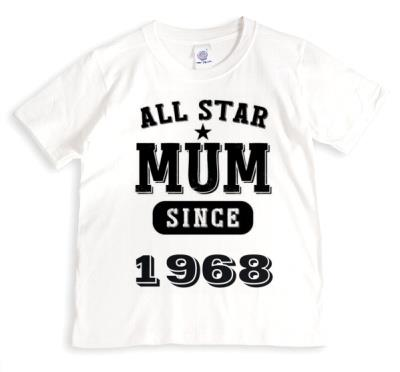 Mother's Day All Star Mum Personalised T-shirt