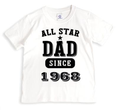 Father's Day All Star Dad Personalised T-shirt