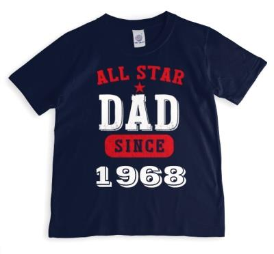 Father's Day All Star Personalised T-shirt