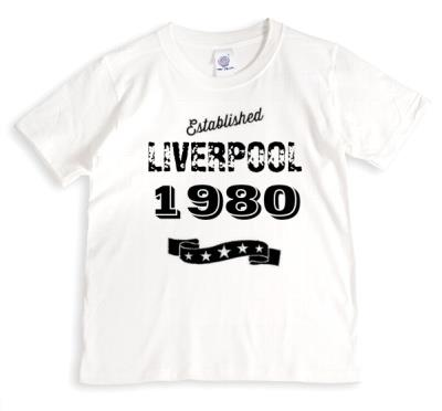 Established In Personalised T-shirt