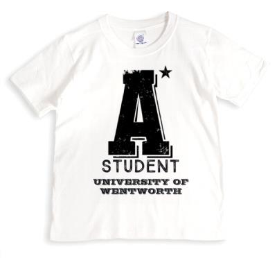 A* Student Personalised T-shirt