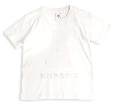 Valentine's Day A* Boyfriend Personalised T-shirt