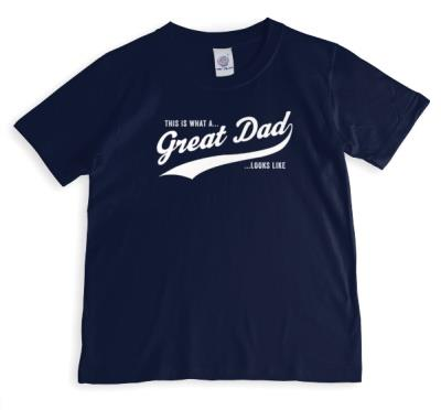 Father's Day Great Dad Personalised T-shirt