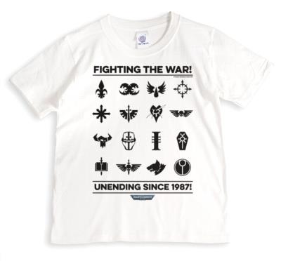 Warhammer Fighting The War Unending Since 1987 tshirt