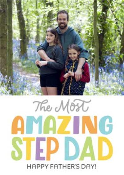 The Most Amazing Step Dad Father's Day Card