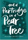Partridge In A Pear Tree Teal Personalised Christmas Card