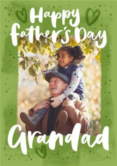 Photo Upload Grandad Father's Day Card