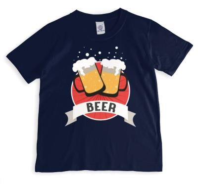 Cheers To Beer Personalised Text T-Shirt