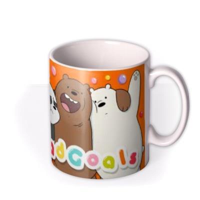 We Bare Bears Sqaud Goals Photo Upload Mug