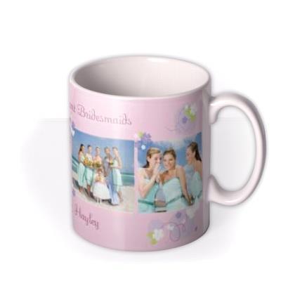 The Brilliant Bridesmaids Photo Upload Mug