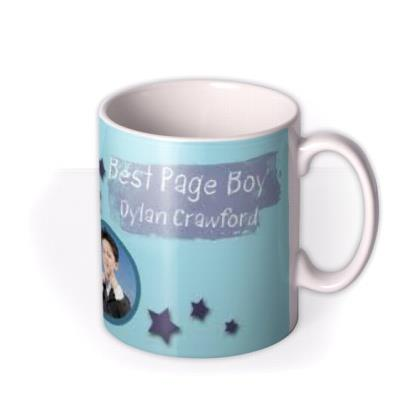 The Best Page Boy Photo Upload Mug