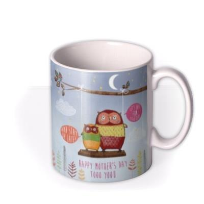 Mother's Day Owls Personalised Mug