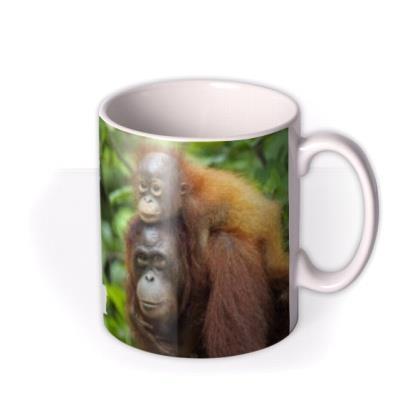 Mother's Day Monkey Personalised Mug