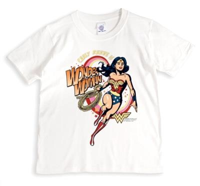 Wonder Woman Vintage Personalised Name T-Shirt