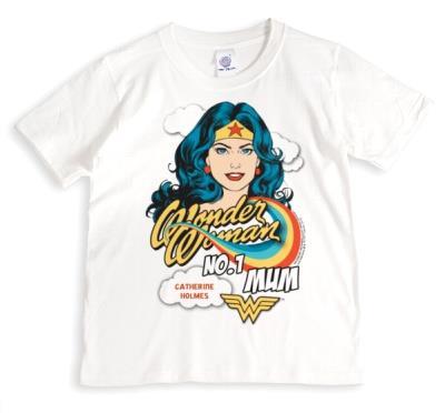 Wonder Woman No. 1 Mum Personalised Mug