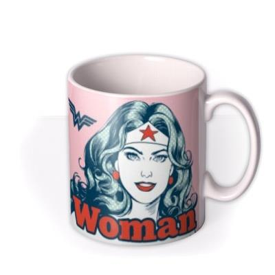 Wonder Woman Motivational You Are Strong Mug