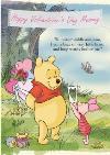 Disney Winnie The Pooh Happy Valentines Day Card