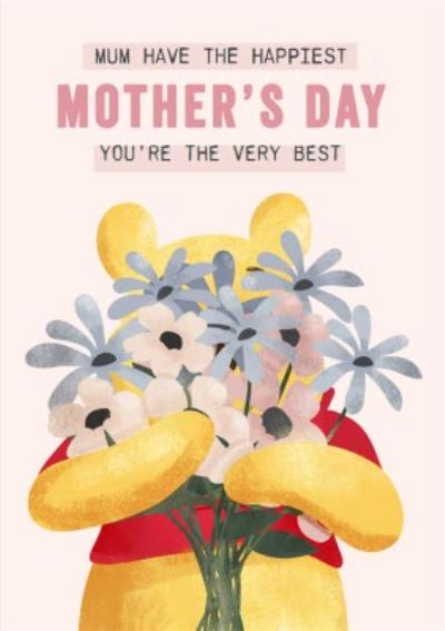 Winnie The Pooh You're The Very Best Mother's Day Card