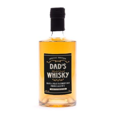 Dad's Special Edition Personalised Whisky 70cl