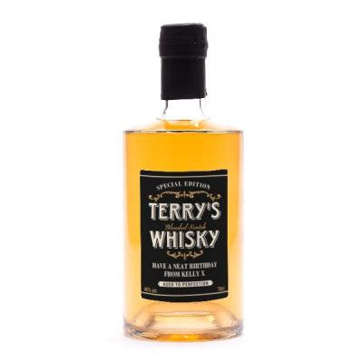 Birthday Edition Personalised Whisky 70cl