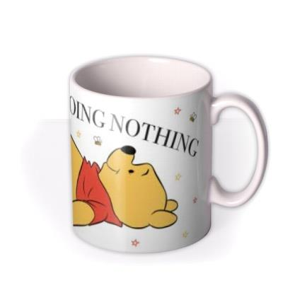 Winnie The Pooh Super Busy Doing Nothing Mug