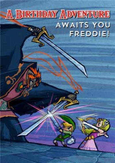 Nintendo The Legend of Zelda Birthday Adventure Card