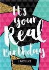 Leap Year It's Your Real Birthday Personalised Happy Birthday Card