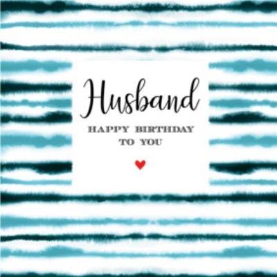 Husband Happy Birthday To You Card